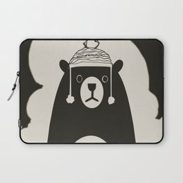 Bear illustration for kids Laptop Sleeve