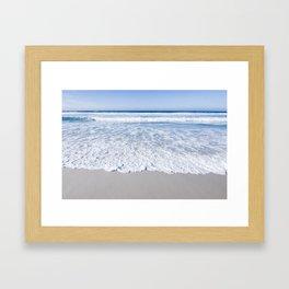 Ocean Layers  Framed Art Print