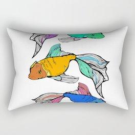 Sea-life Collection - Rainbow Fish Rectangular Pillow