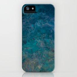 Crystal Clear Aqua Blue Ocean Water  iPhone Case