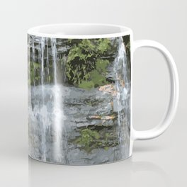Blue Mountains Waterfall, Sydney Australia Coffee Mug