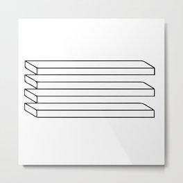 Optical Illusion #5 Metal Print
