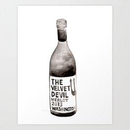 Wine 1 Art Print