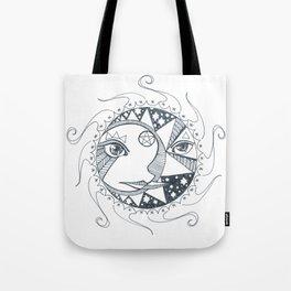 Moon, Sun, and Stars Tote Bag