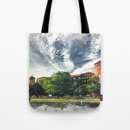 Cracow art 7 Wawel #cracow #krakow #city Tote Bag