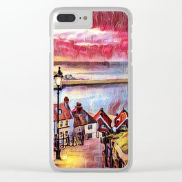 Sweet Whitby Clear iPhone Case
