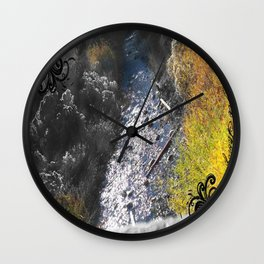PAYSON RIVER Wall Clock