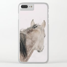 Watching It Snow Clear iPhone Case