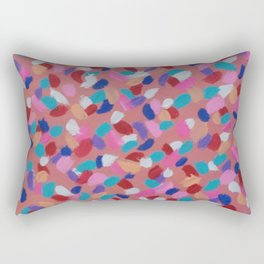 Pink Spun Sugar Rectangular Pillow