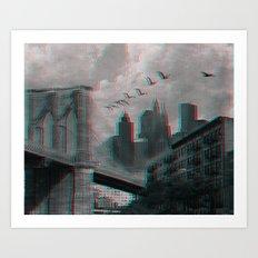 NYC 3D Art Print