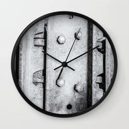Metal Tank Track of Unity Wall Clock