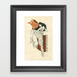 Why would I want to leave serenity? - Inara Framed Art Print