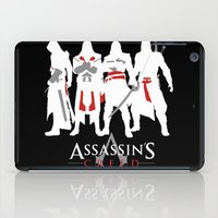 assassins creed iPad Cases featuring Assassins by Pixel Design