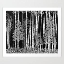 Ode to Ansel I Art Print