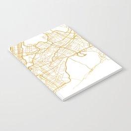NEW YORK CITY NEW YORK CITY STREET MAP ART Notebook