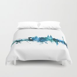 Cologne Germany Skyline Duvet Cover