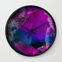 Bringer of Light | Alcohol Ink Abstract Wall Clock