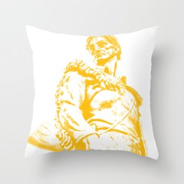 West Virginia Mountaineer Gold Gifts Throw Pillow