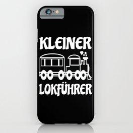 Little Train Driver Kids Gift Idea Design Motif iPhone Case