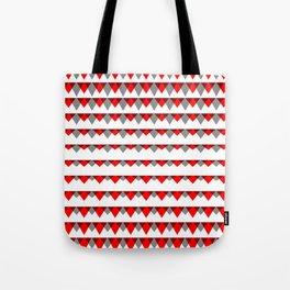 embers geometric pattern Tote Bag