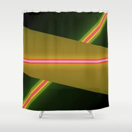 laser Shower Curtain