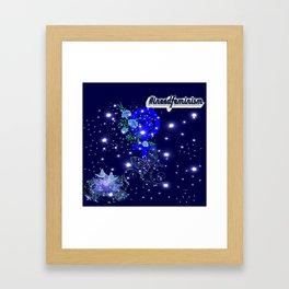 #IneedFeminism - Blue Bloom Framed Art Print