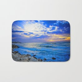 Tel Aviv Beach Sunset Bath Mat