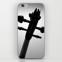 violin iPhone & iPod Skins featuring Violin by tracy-Me