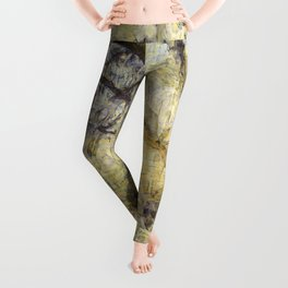 Summertime Forest Van Gogh Leggings