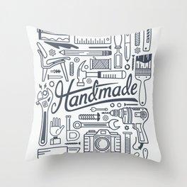 Make Handmade - White Throw Pillow