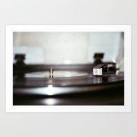 vinyl Art Prints featuring Vinyl by Jacbo