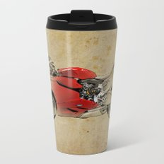 Ducati 1199 Panigale - Original drawing | gift for men and bikers Metal Travel Mug