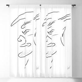 The Chin Man Blackout Curtain