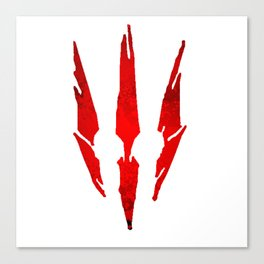 Claw Witcher Canvas Print