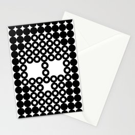 Retro Skull #3 Stationery Cards