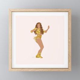 Shak Framed Mini Art Print