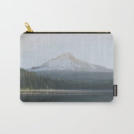 Trillium Lake Sunrise - Nature Photography Carry-All Pouch