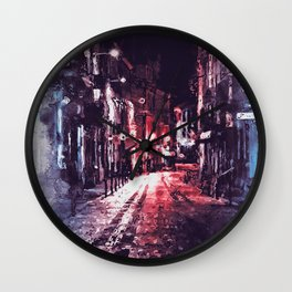 Nightlife Wall Clock