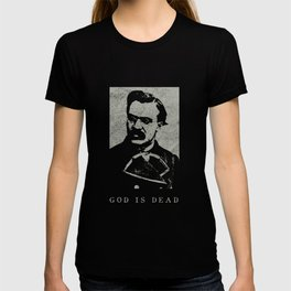 Vintage Philosophy God Is Dead Nietzsche Nihilism Design Nihilismus T-shirt