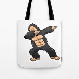 Dabbing Gorilla Shirt Ape Monkey Big Foot Dab Kids Tote Bag
