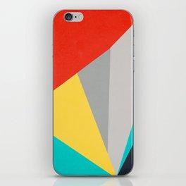 Aggressive Color Block iPhone Skin