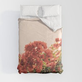 Bouganvillea Morning #3 Comforters