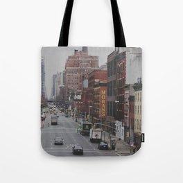 New York Street Tote Bag