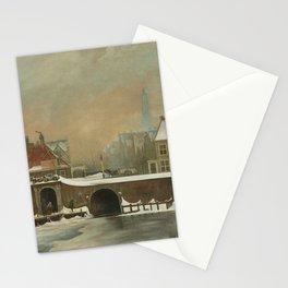 "The Raampoortje ""Frame Gate"" in Amsterdam - Wouter Johannes van Troostwijk (1809) Stationery Cards"