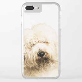 Old English Sheepdog Clear iPhone Case