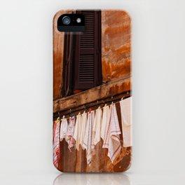 Roman Streets II iPhone Case
