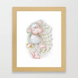 My Sheep Framed Art Print