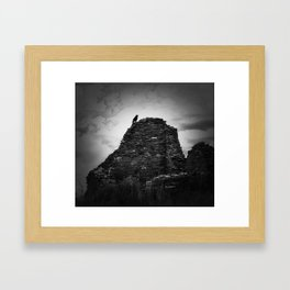 Beautiful photo taken at Chaco Culture National Park Framed Art Print