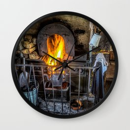 Victorian Fire Place Wall Clock