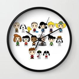 fifi peanuts deviantart snoopy Wall Clock